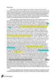 module b essay hamlet year hsc english advanced thinkswap hamlet essay