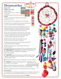 Parts Of A Dream Catcher eeBoo Studio dream catcher 2
