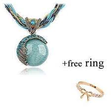2019 necklace womens new pendant fashion silver green leaves ms gift charm retro hot sale beads simple latest gifts