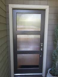 glass front doors privacy. Metal \u0026 Glass; Front Door. Love The Privacy Glass Inserts! Doors A