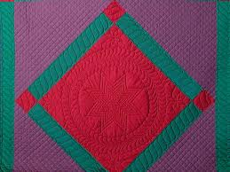 Center Diamond Quilt -- great smartly made Amish Quilts from ... & ... Amish Center Diamond Quilt Photo 3 ... Adamdwight.com