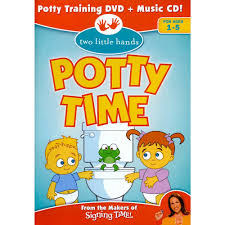 Signing Time Two Little Hands Potty Time Training Dvd And Music Cd