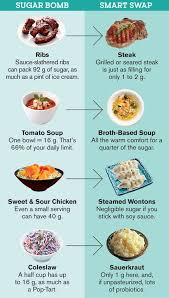 Nutrition Charts For Restaurants 4 Restaurant Sugar Bombs And Their Healthier Swaps Food