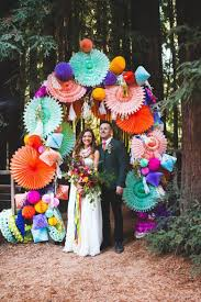 Paper Flower Archway Wedding Backdrops That Are Gorgeous Af A Practical Wedding