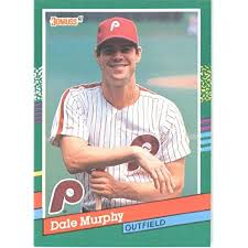 1991 bowman baseball complete set (in binder) in binder qty view all. Amazon Com 1991 Donruss Baseball Card 484 Dale Murphy Collectibles Fine Art