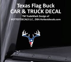 Details about TEXAS BUCK DECAL AMERICAN BOWHUNTER STICKER CAR TRUCK Lone Star State