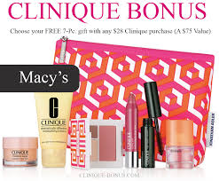fall clinique bonus at macy s is here september october 2017 qualifier