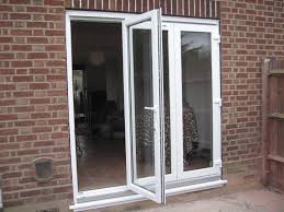 white framed bi fold patio door beautiful bifold patio doors designs kitchen