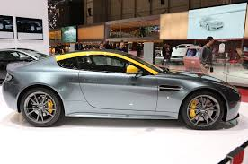 2015 Aston Martin V8 Vantage GT Riding: Sporty And Luxury Ride
