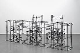 wire furniture. Wire Frame Furniture By NOIZ Architects N