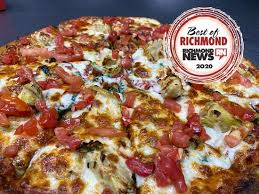 round table pizza richmond menu