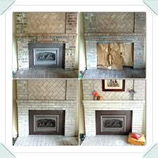 whitewashing brick fireplace surround whitewashing brick fireplace surround whitewashed brick fireplace surround