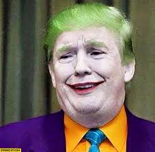 donald trump joker makeup batman