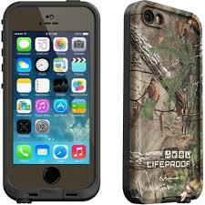 lifeproof case iphone 5. lifeproof- realtree fre waterproof case iphone 5/5s in green (2111-04 lifeproof iphone 5 c