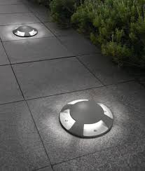 in ground lighting. Exterior Ground Recessed Indicator Light Ø200mm. Low Glare Castlights To Wash Footpaths And Roads In Lighting E