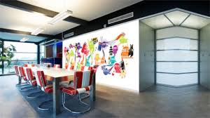 wall decor for office. infuse smartness into your office decor with wall murals for