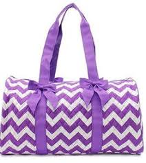 Girls Quilted Nylon Dance Duffle Bag w Pink Polka Dot Bow Black ... & Personalized Quilted Purple Chevron Duffel Bag- Monogrammed Quilted Purple  Chevron Duffle Bag~ Embroidery Included Adamdwight.com