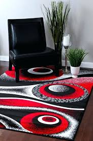 red black and gray area rugs rug carpet large new kitchen white summit modern abstra black and red area rugs