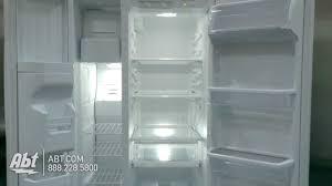 Wrs325fdam04 Freezer Light Whirlpool White Side By Side Refrigerator Wrs322fdaw