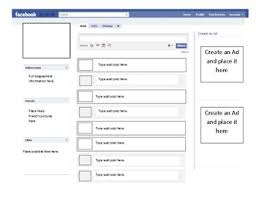 Facebook Outline Template Facebook Profile Template By Inspire Others Teachers Pay Teachers