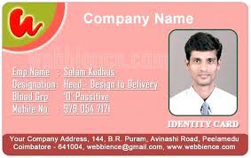 company id card templates company id card templates employee hospital template work word to