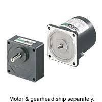 <b>15</b> W (1/50 <b>HP</b>) World <b>K Series</b> Single-Phase AC Motors & Gear ...