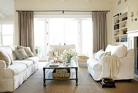 neutral tones in the living room