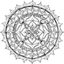 Free Printable Mandala Coloring Pages From