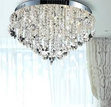ceiling mount crystal chandelier enchanting flush mount crystal chandelier and flush mount chandelier with compare s