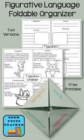 Figurative Language Chart Printable Peter Pan Similes Metaphors And Personification Book