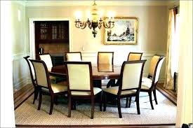dining room table rug ideas area round rugs under decorating farmhouse dining room rug ideas decorating den gina wolleat