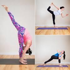 Modern Life Yoga Poses And Hindi Names Chart