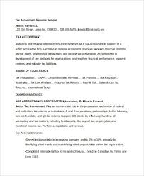 40+ Free Accountant Resume Templates - Pdf, Doc | Free & Premium ...