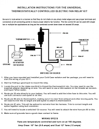 amazing thermo switch wiring diagram electric fan thermal origin awesome of thermo switch wiring diagram electric fan relay kit cold case aluminum radiators ef 1