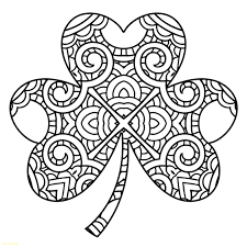 Shamrock Coloring Page Shamrock Coloring Pages Free At Getdrawings Com Free For Personal