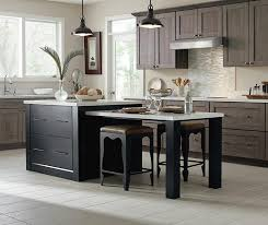 huxleymhb5b ainslemwib herra laminate kitchen cabinets in elk with a prestley black island
