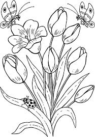 96 Tranh tô màu vườn hoa ideas in 2021   flower coloring pages, coloring  pages, coloring pages for kids
