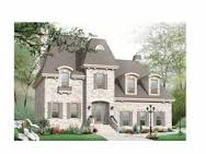 images about Mansard roof on Pinterest   Roof Types  Hip    Shingle House Plan   Square Feet and Bedrooms s  from Dream Home