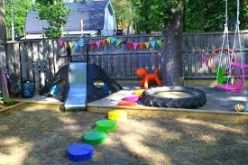 diy playground ideas for backyard