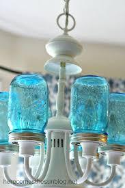 mason jar light fixtures blue mason jar chandelier detail installed mason jar rustic pallet light fixture