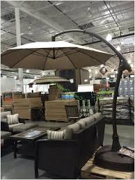 costco 853331 11 cantilever patio umbrella with base 2