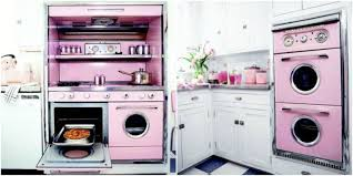 Retro Style Kitchen Appliance Pink Retro Kitchen Decorating Ideas Vintage Kitchen Decor