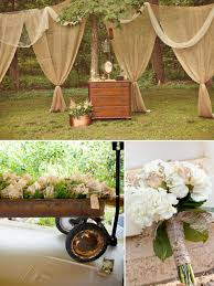 Rustic Outdoor Wedding Decoration Idea: Uniqueness of Rustic Wedding  Decorations