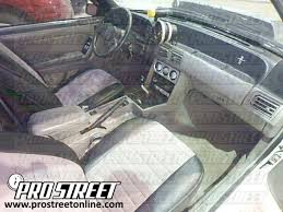 how to ford mustang stereo wiring diagram my pro street 1990 ford mustang stereo wiring diagram