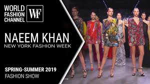 Naeem Khan <b>spring</b>-<b>summer 2019 New</b> York fashion week - YouTube