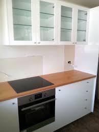 glass garage doors kitchen. Timber Kitchen Benchtop With Recessed Glass Overhead Door Cabinet \u2013 Mike Design Garage Doors I