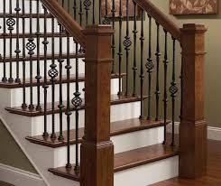 Indoor stair railings Beamm Stairrailing Invisible Ink St Louis Staircases Stair Railings From Wilke Window