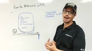 Pressure Tank Drawdown Chart How To Measure Your Well Pump Gpm