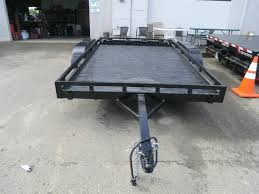 aluminum haulmark utility trailer midnight edition 6 6 x12 powder