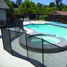 safety pool fence. Safety Removable Pool Mesh Fence Child Barrier 4ft X 12ft Stainless Steel Core